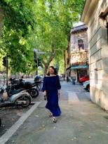 Hui He in Trastevere, Rome