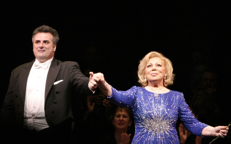 Marcello Giordani with Mirella Freni