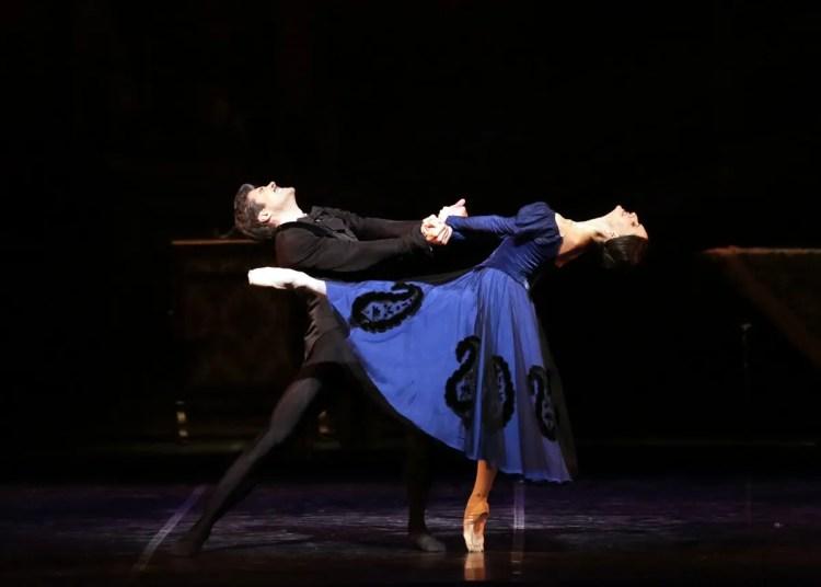 20 Onegin with Roberto Bolle and Marianela Nuñez photo by Brescia and Amisano, Teatro alla Scala 2019