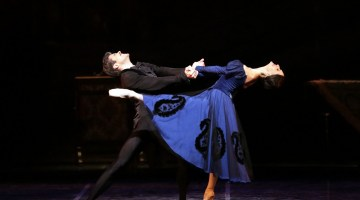 20 Onegin with Roberto Bolle and Marianela Nuñez photo by Brescia and Amisano, Teatro alla Scala 2019