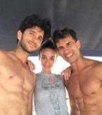 Alessandro Macario, Anbeta Toromani and Kledi Kadiu