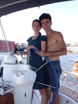 Alessandro Macario and Anbeta Toromani