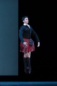 Alessandro Macario in La Sylphide by Bournonville, Teatro San Carlo