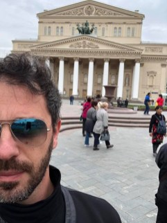 Francesco Lanzillotta at the Bolshoi Theatre