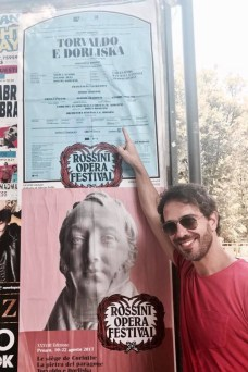 Francesco Lanzillotta at the Rossini Opera Festival in Pesaro