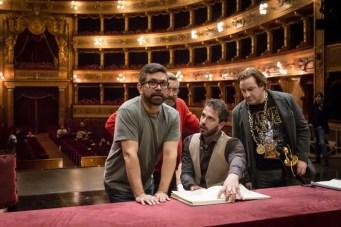 Francesco Lanzillotta rehearsing La favorite at the Teatro Massimo in Palermo © Rosellina Garbo