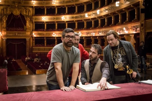 Francesco Lanzillotta rehearsing La favorite at the Teatro Massimo in Palermo © Rosellina Garbo