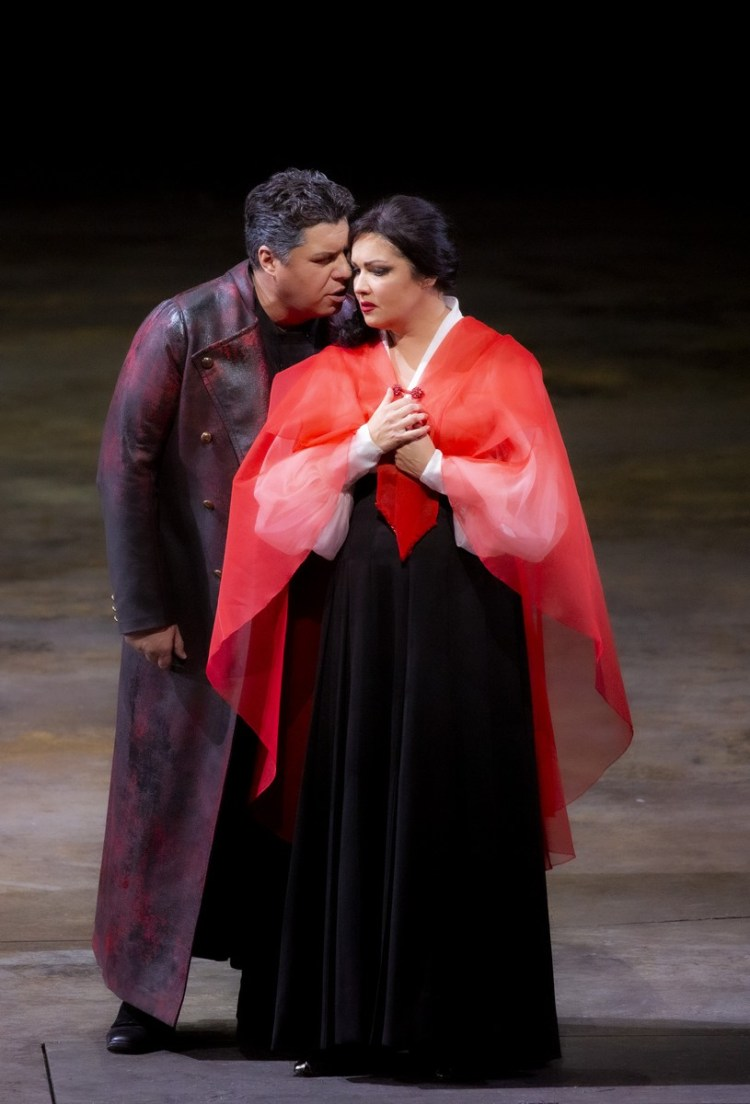 07 Tosca with Salsi and Netrebko, photo by Brescia e Amisano, Teatro alla Scala 2019