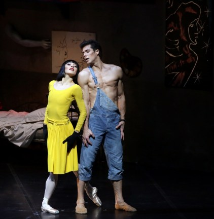 31 Le Jeune homme et la Mort Nicoletta Manni, Roberto Bolle, photo by Brescia e Amisano, Teatro alla Scala
