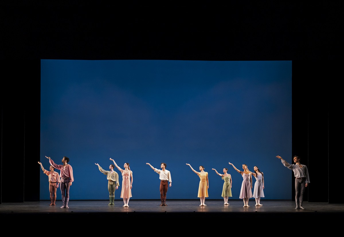 Dances at a Gathering. Artists of The Royal Ballet Ballet. ©ROH, 2020. Photographed by Bill Cooper.