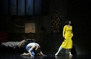 Le Jeune homme et la Mort, Nicola Del Freo and Marta Romagna, photo Brescia e Amisano Teatro alla Scala, 4