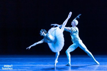 Marianela Nuñez and Vadim Muntagirov in Les Etoiles 2020 Rome, photo by Graham Spicer