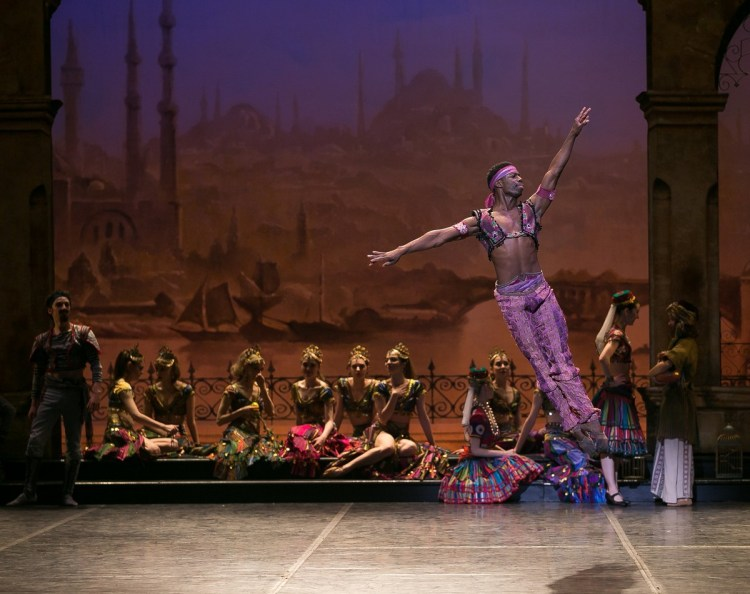 02 English National Ballet in Le Corsaire with Brooklyn Mack @ Dasa Wharton