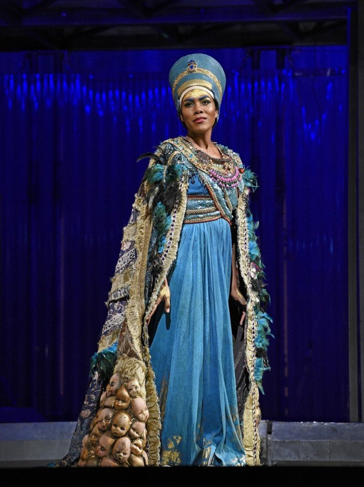 J'Nai Bridges in Akhnaten, The Metropolitan Opera 2019