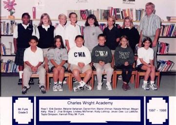 J'Nai at the Charles Wright Academy