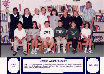 J'Nai at the Charles Wright Academy