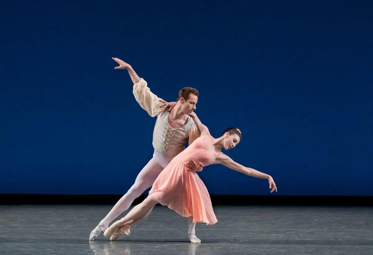 Allegro Brillante, Tiler Peck and Andrew Veyette, photo by Paul Kolnik