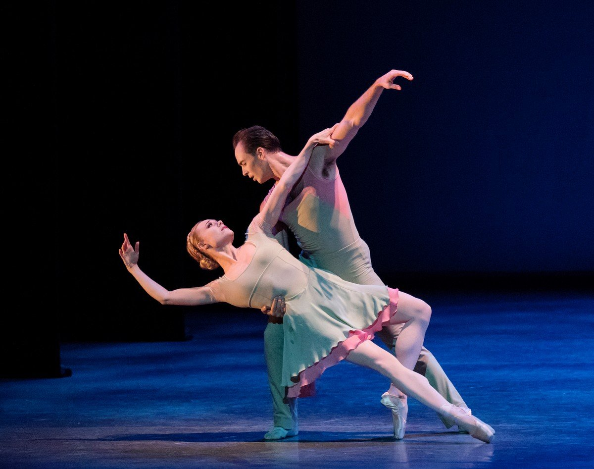 Concerto DSCH with Sara Mearns and Tyler Angle photo by Paul Kolnik NYCB