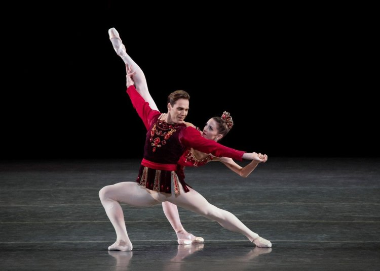 George Balanchine's Rubies with Megan Fairchild and Gonzalo Garcia photo by Erin Baiano NYCB