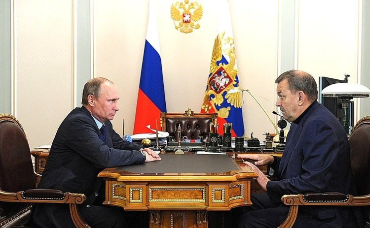 Vladimir Putin and Vladimir Urin