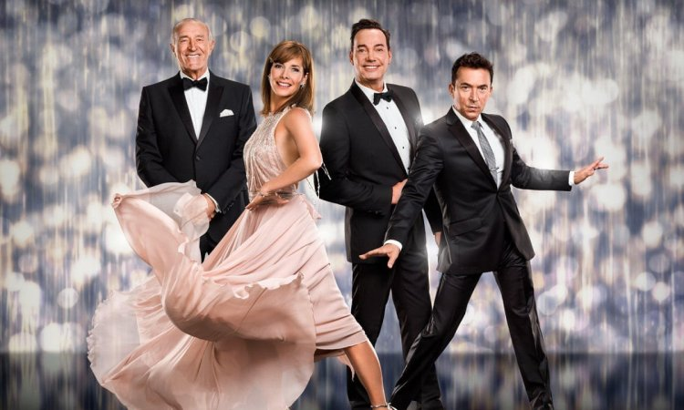 Darcey Bussell as a Strictly Come Dancing judge, photo by BBC Jay Brooks Matt Burlem