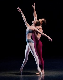Maria Kowroski and Jared Angle in Wheeldon's Liturgy, photo by Paul Kolnik 01