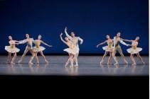 New York City Ballet in Balanchine's Divertimento No. 15, photo by Paul Kolnik
