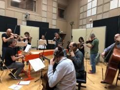 Ottavio Dantone and the Accademia Bizantina in the studio of Radio Nacional de España