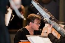 Ottavio Dantone at the keyboard © Giulia Papetti