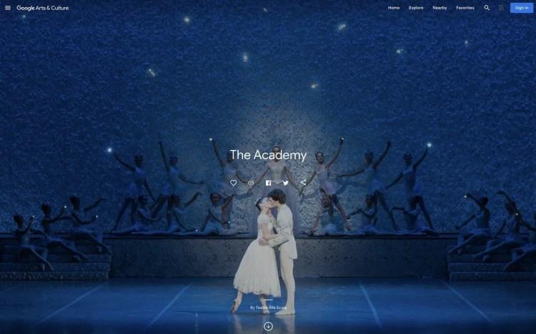 The Academy story, Cindarella 2015, photo Alessia Santambrogio, Teatro alla Scala Google Arts and Culture
