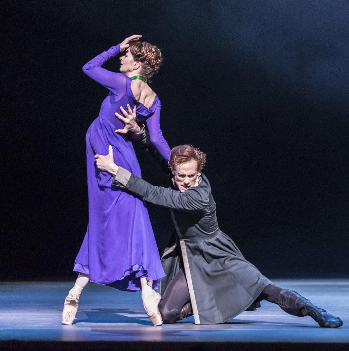 The Winter's Tale. Lauren Cuthbertson as Hermoine, Edward Watson as Leontes. © ROH, Johan Persson, 2014