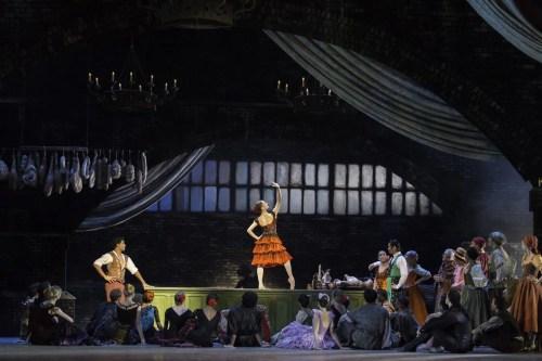 Carlos Acosta as Basilio and Marianela Nuñez as Kitri in Don Quixote © ROH Johan Persson 2013 (2)