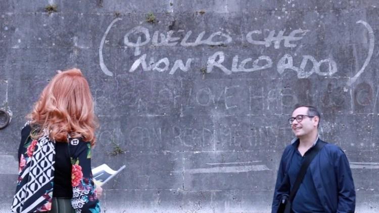 Luisa Mariani with Marco Angelini