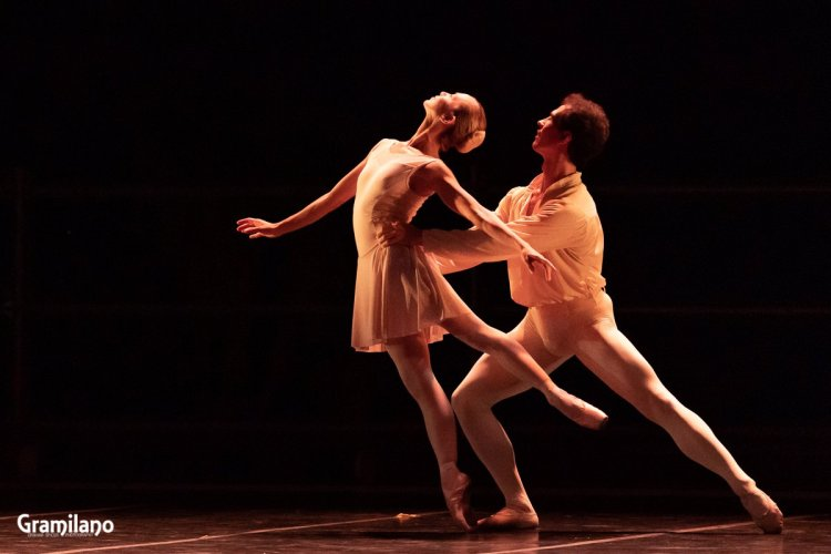 Silvia Azzoni and Alexander Ryabko in Sonata © Graham Spicer