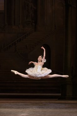 Yasmine Naghdi as Princess Aurora in The Sleeping Beauty, The Royal Ballet © 2017 ROH. Photograph by Bill Cooper
