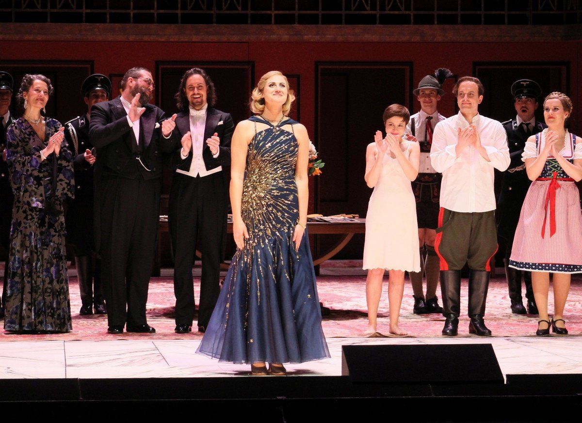 Curtain call after Arabella Zurich Opera House March 2020 her last performance before the lockdown 1