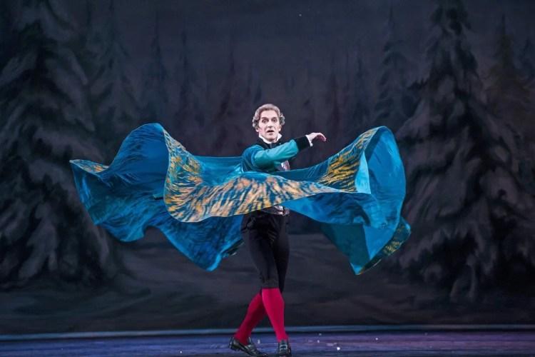 Gary Avis as Drosselmeyer in The Nutcracker, The Royal Ballet © 2015 ROH. Photograph by Tristram Kenton