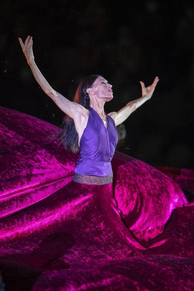 Le Sacre with Luciana Savignano and DanceHaus, Teatro Franco Parenti 2020, photo by Francesco Prandoni 3
