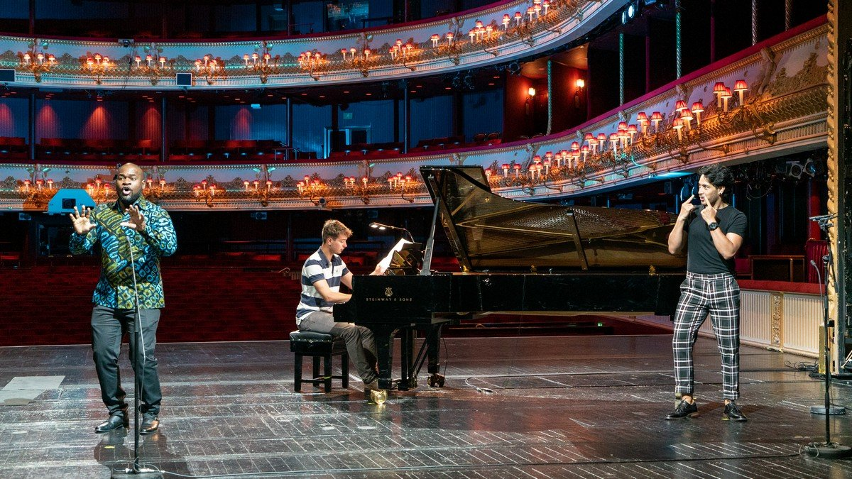 Live from Covent Garden (rehearsal), Blaise Malaba and Filipe Manu, Edmund Whitehead, ROH 2020 2