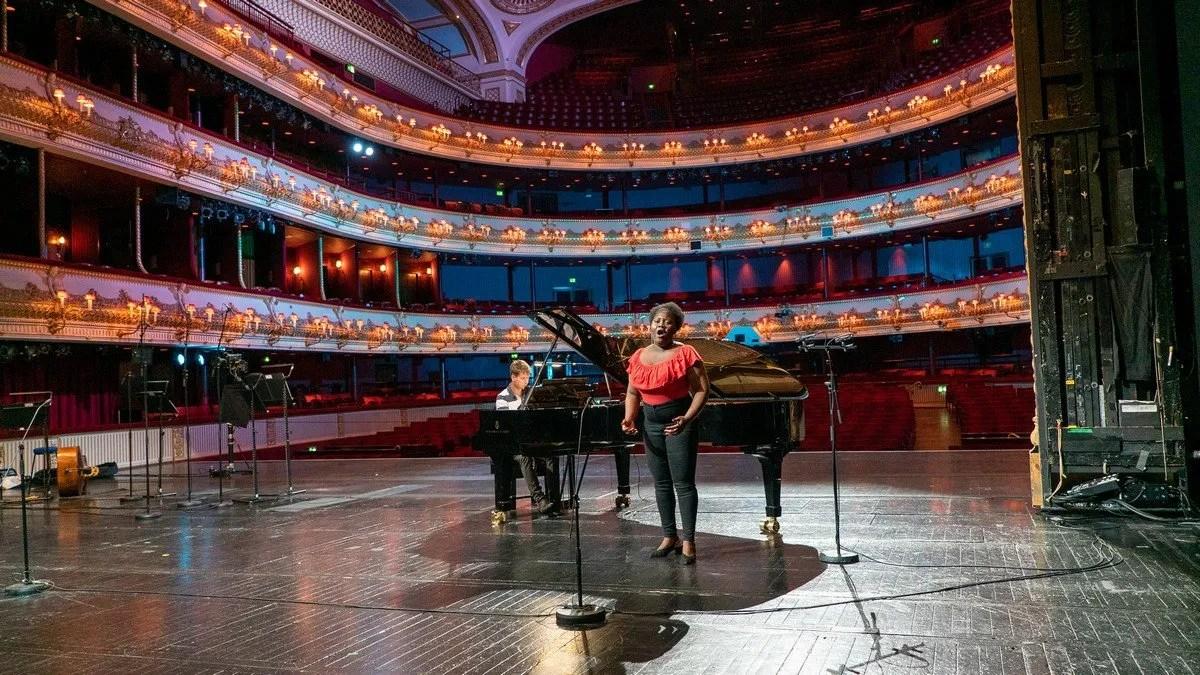 Live from Covent Garden (rehearsal), Masabane Cecilia Rangwanasha, Edmund Whitehead, ROH 2020