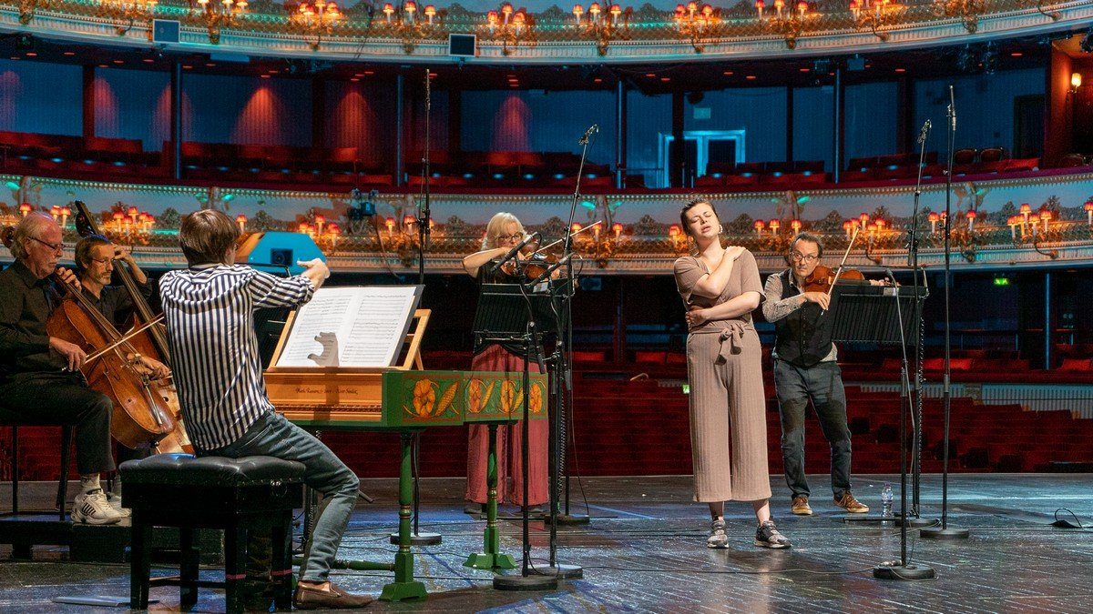 Live from Covent Garden (rehearsal), Stephanie Wake Edwards, Patrick Milne, ROH 2020