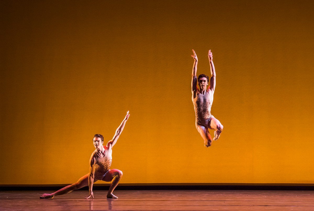 David Donnelly and Teo Dubreuil Within th Golden Hour, Photo Tristram Kenton ROH 2019