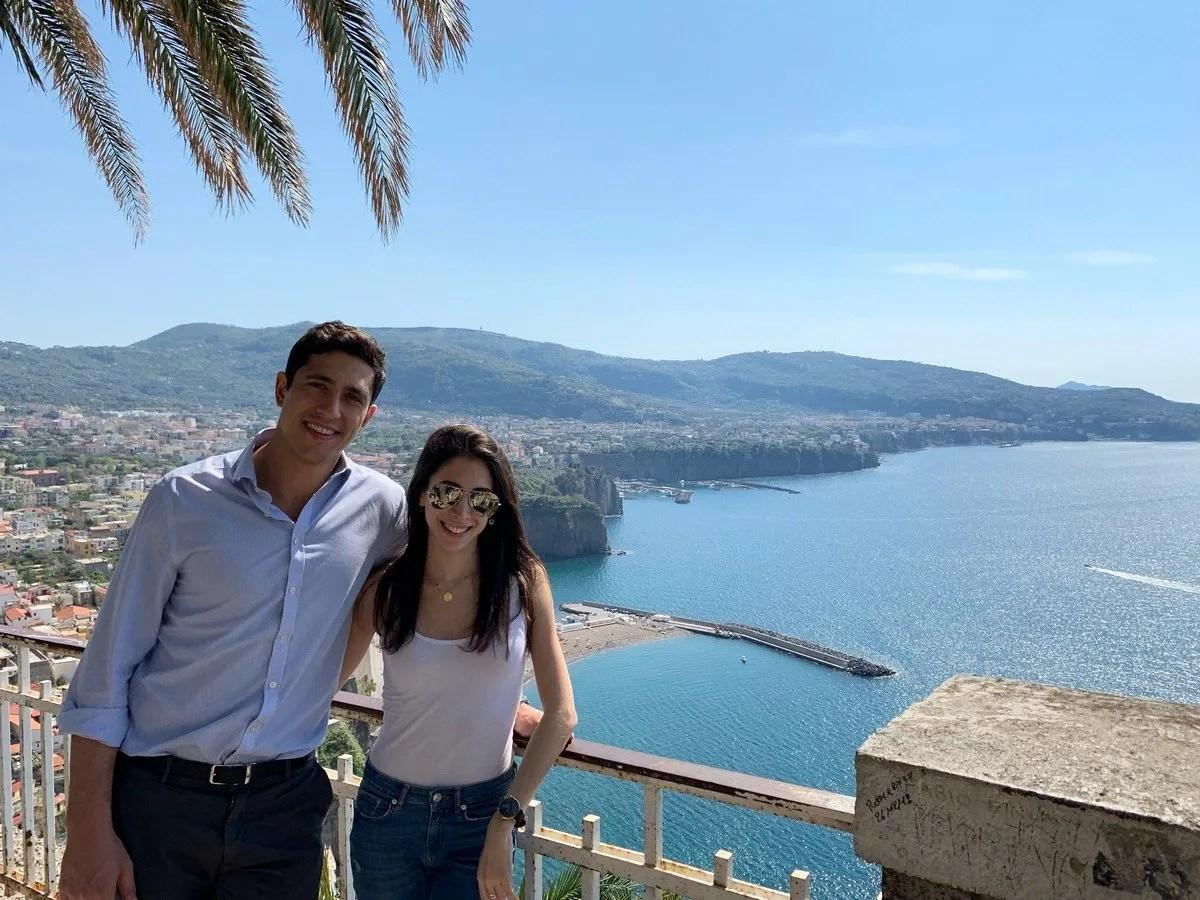 On the Amalfi Coast with Riccardo