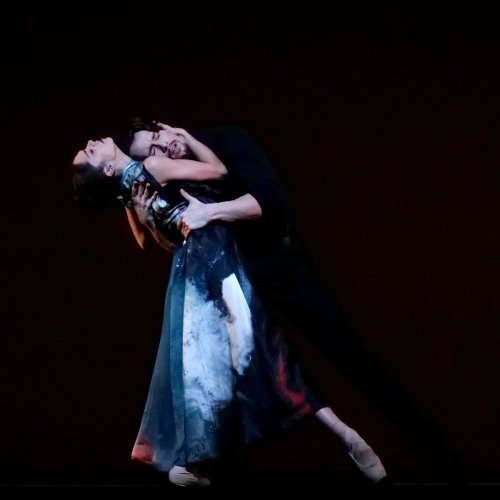 Romany Padjak, Calvin Richardson, In Our Wishes Royal Ballet Live 2020, photo Rachel Hollings ROH