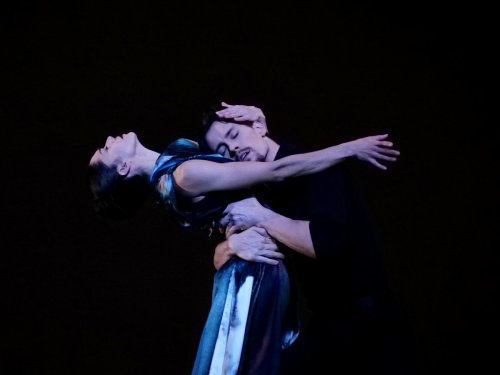 Romany Padjak and Calvin Richardson, In Our Wishes, Royal Ballet Live 2020, photo Rachel Hollings ROH