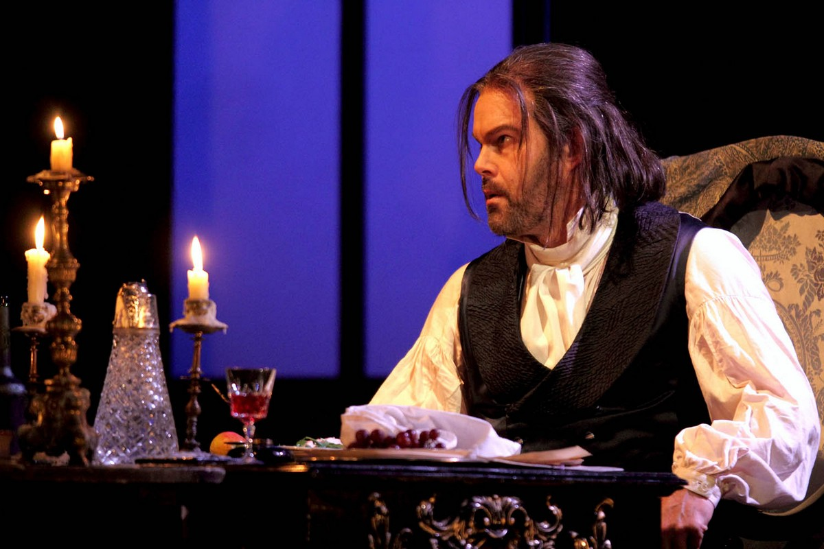 Gerald Finley as Baron Scarpia © ROH Photo by Catherine Ashmore