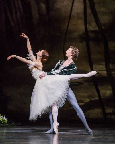 Marianela Nuñez and Vadim Muntagirov in Giselle © ROH 2016. Photographer Tristram Kenton (2)