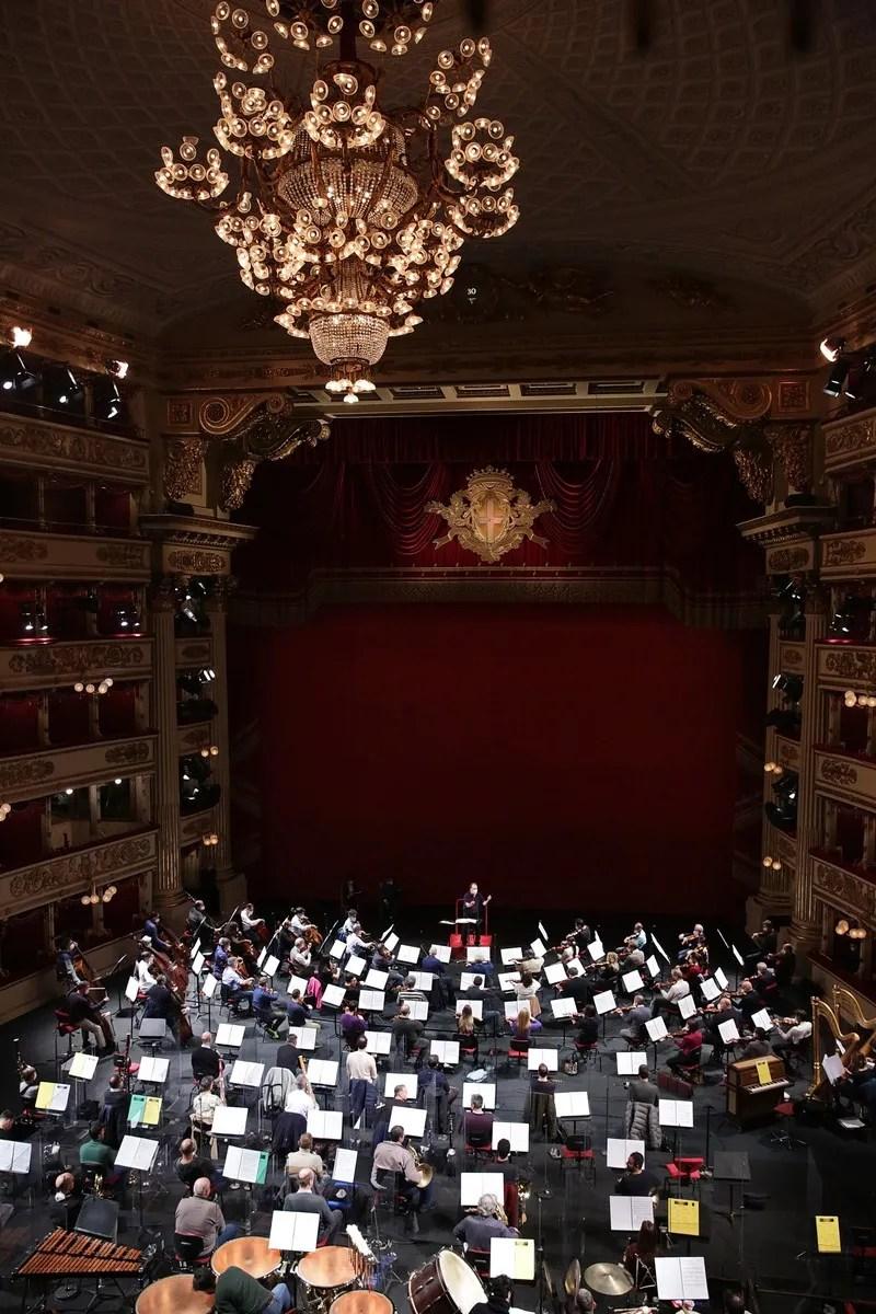 Rehearsals photo by Brescia e Amisano © Teatro alla Scala