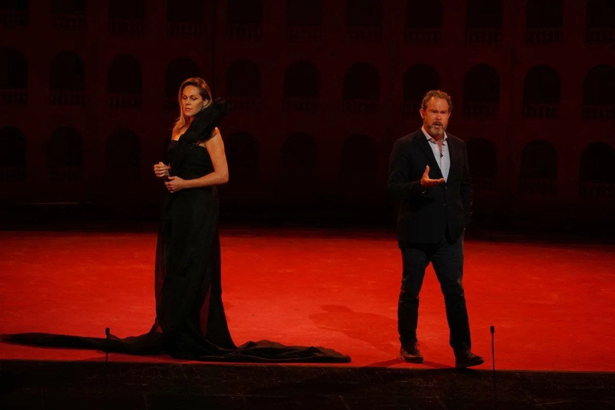 The Royal Opera Live in concert (rehearsal), Kristine Opolais and Gerald Finley ROH 2020