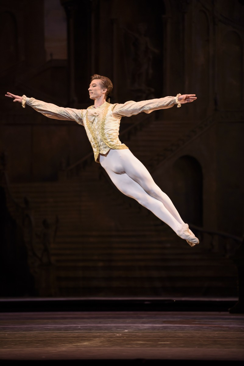 Vadim Muntagirov in The Sleeping Beauty, The Royal Ballet © 2016 ROH. Photograph by Bill Cooper